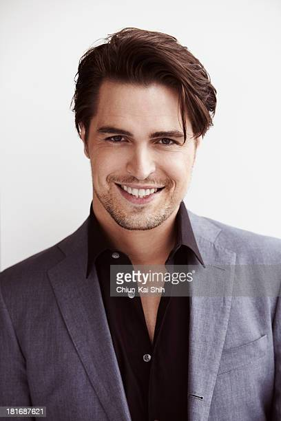 Actor Diogo Morgado is photographed for August Man on March 28 2013 in New York City PUBLISHED IMAGE