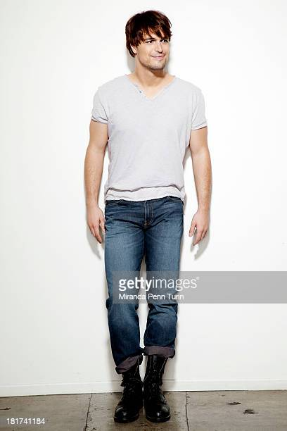 Actor Diogo Morgado is photographed for Spec on April 24 2013 in Los Angeles California