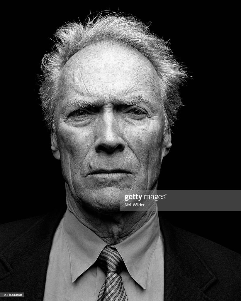 Actor, director Clint Eastwood poses for Newsweek International on January 24, 2004, in Los Angeles, CA.