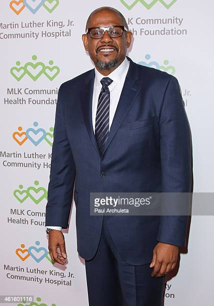 Actor / Director Forest Whitaker attends the 2015 Martin Luther King Jr 'Celebrating The Dream' luncheon at the Dorothy Chandler Pavilion on January...