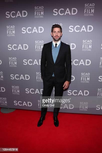 Actor & Director John Krasinski attends the 21st SCAD Savannah Film Festival opening night on October 27, 2018 in Savannah, Georgia.
