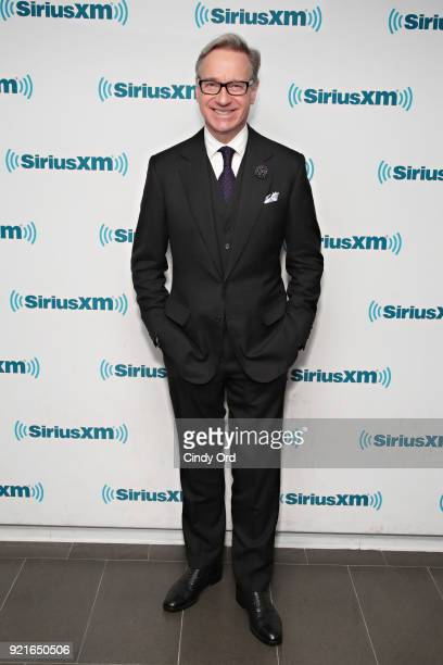 Actor/ director Paul Feig visits the SiriusXM Studios on February 20 2018 in New York City