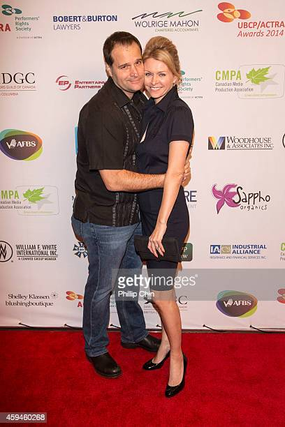 Actor/ director Peter Deluise and his wife actress Anne Marie DeLuise arrive at the 2014 UBCP/ACTRA Awards at the Vancouver Playhouse on November 22...