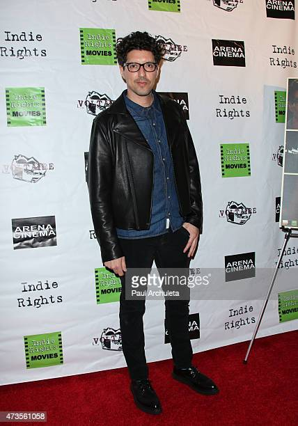 Actor / Director Quincy Rose attends the premiere of 'Miles To Go' at Arena Cinema Hollywood on May 15 2015 in Hollywood California