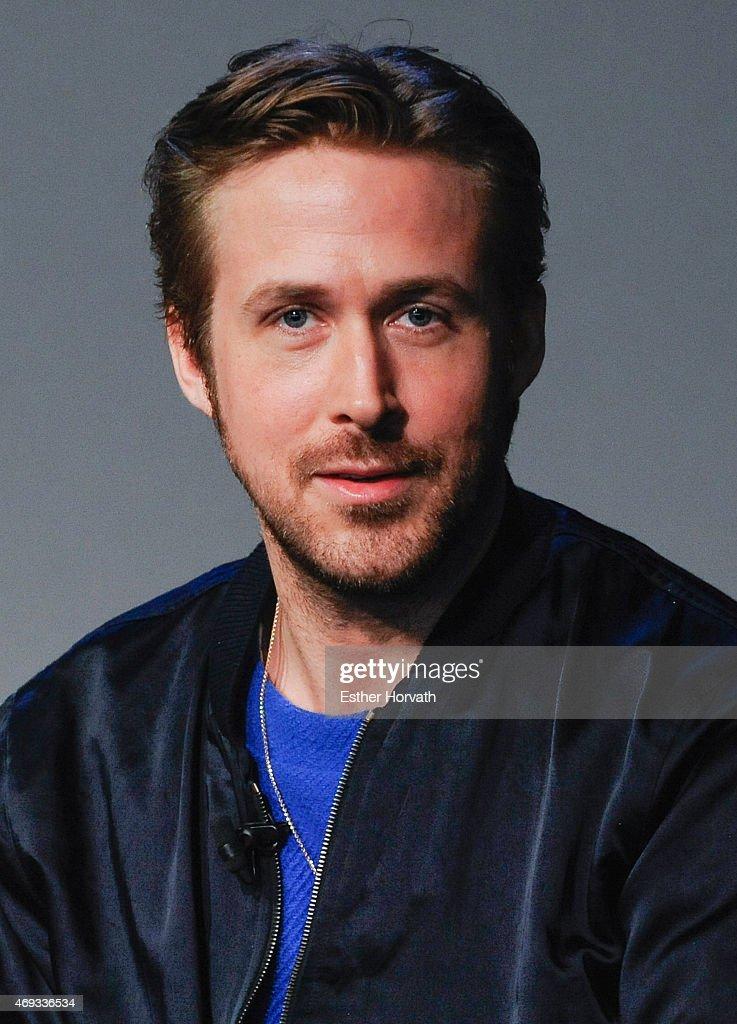 "Apple Store Soho Presents Meet The Filmmaker: Ryan Gosling, ""Lost River"" : News Photo"