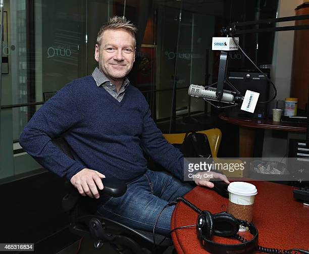 Actor/ director Sir Kenneth Branagh visits 'The Morning Jolt With Larry Flick' at the SiriusXM Studios on March 5 2015 in New York City