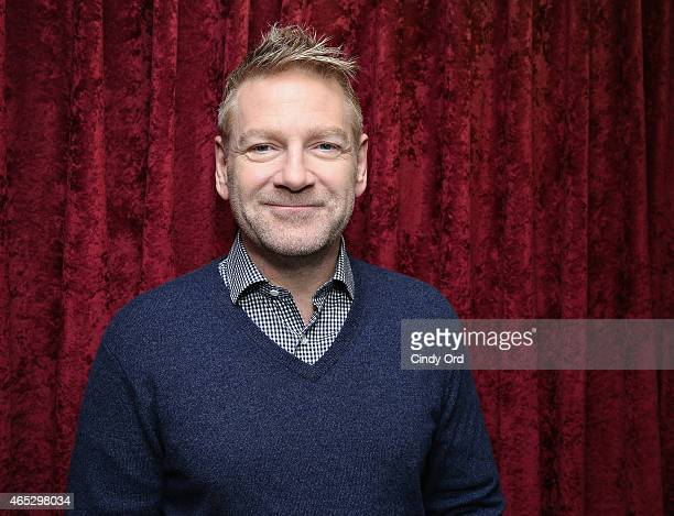 Actor/ director Sir Kenneth Branagh visits the SiriusXM Studios on March 5 2015 in New York City
