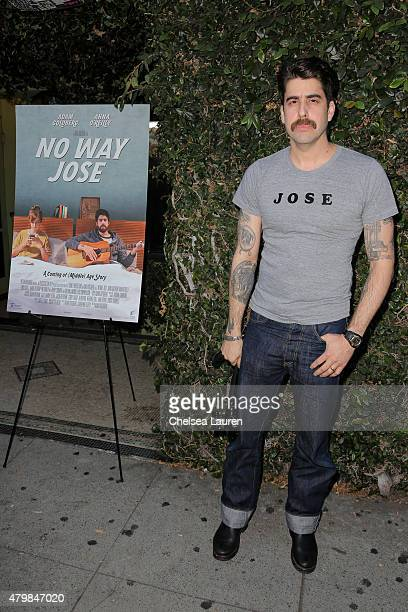 Actor / director / writer Adam Goldberg arrives at the 'No Way Jose' screening on July 7 2015 in Los Angeles California