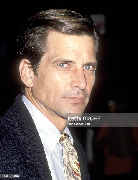 Actor Dirk Benedict attends the American Booksellers Association Convention and Trade Exhibit '94 on May 28 1994 at Los Angeles Convention Center in...