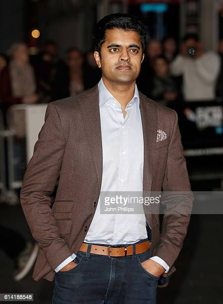 Actor Divian Ladwa attends the 'Lion' American Express Gala screening during the 60th BFI London Film Festival at Odeon Leicester Square on October...