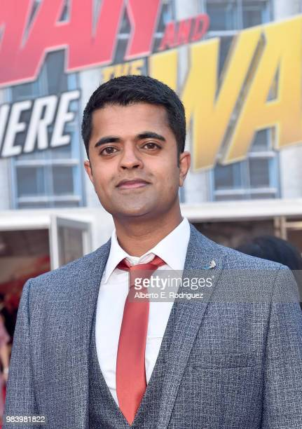 Actor Divian Ladwa attends the Los Angeles Global Premiere for Marvel Studios' 'AntMan And The Wasp' at the El Capitan Theatre on June 25 2018 in...