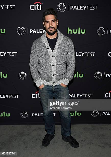 Actor DJ Cotrona arrives at The Paley Center for Media's PaleyFest 2016 Fall TV Preview of El Rey at The Paley Center for Media on September 9 2016...