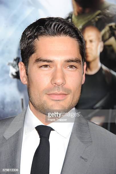 Actor DJ Cotrona arrives at the premiere of GI Joe Retaliation held at the Chinese Theater in Hollywood
