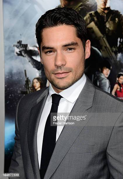 Actor DJ Cotrona arrives at the premiere of Paramount Pictures' GI Joe Retaliation at TCL Chinese Theatre on March 28 2013 in Hollywood California