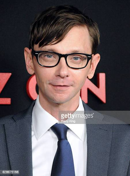 Actor DJ Qualls attends the premiere of Amazon's 'Man In The High Castle' at Pacific Design Center on December 8 2016 in West Hollywood California