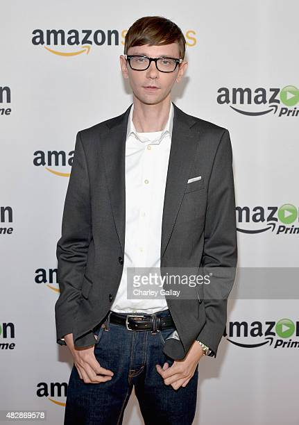 Actor DJ Qualls attends the 'The Man In The High Castle' panel discussion at the Amazon Studios portion of the 2015 Summer TCA Tour on August 3 2015...