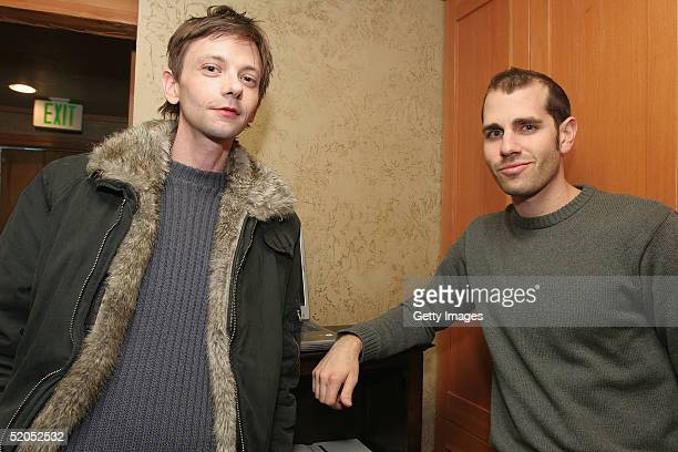 Actor DJ Qualls visits the ActorGearcom display at the Gibson Gift Lounge during the 2005 Sundance Film Festival on January 22 2005 in Park City Utah