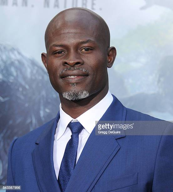 Actor Djimon Hounsou arrives at the premiere of Warner Bros Pictures' The Legend Of Tarzan at TCL Chinese Theatre on June 27 2016 in Hollywood...