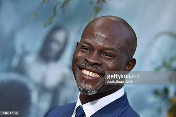 Actor Djimon Hounsou arrives at the premiere of Warner Bros Pictures' 'The Legend Of Tarzan' at TCL Chinese Theatre on June 27 2016 in Hollywood...
