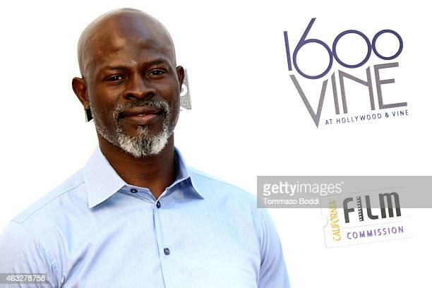 Actor Djimon Hounsou attends the Made In Hollywood Honors held at 1600 Vine on February 12 2015 in Hollywood California