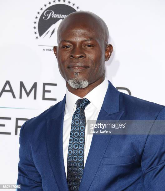 Actor Djimon Hounsou attends the premiere of Same Kind of Different as Me at Westwood Village Theatre on October 12 2017 in Westwood California