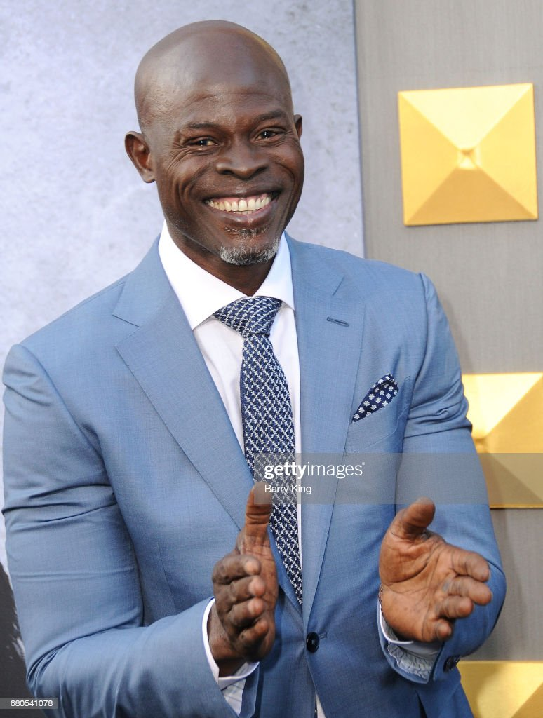 Actor Djimon Hounsou attends world premiere of Warner Bros. Pictures' 'King Arthur: Legend Of The Sword' at TCL Chinese Theatre on May 8, 2017 in Hollywood, California.