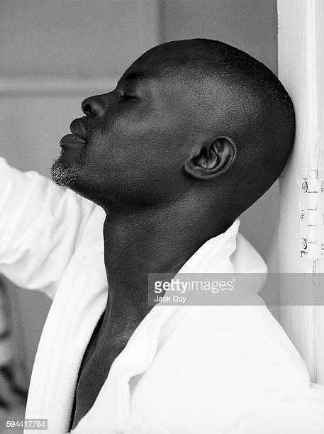 Actor Djimon Hounsou is photographed in 2005 in Los Angeles California