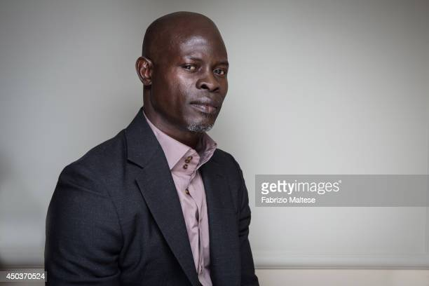 Actor Djimon Hounsou is photographed in Cannes France
