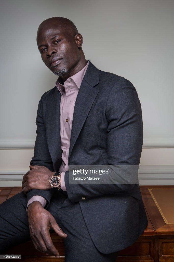 Djimon Hounsou, Self assignment, May 17, 2014