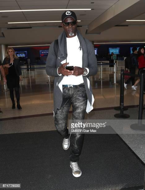 Actor Djimon Hounsou is seen on November 15 2017 in Los Angeles California