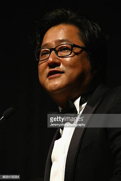 Actor Do Won Kwak attends the Asura The City Of Madness premiere held at The Elgin during the Toronto International Film Festival on September 13...