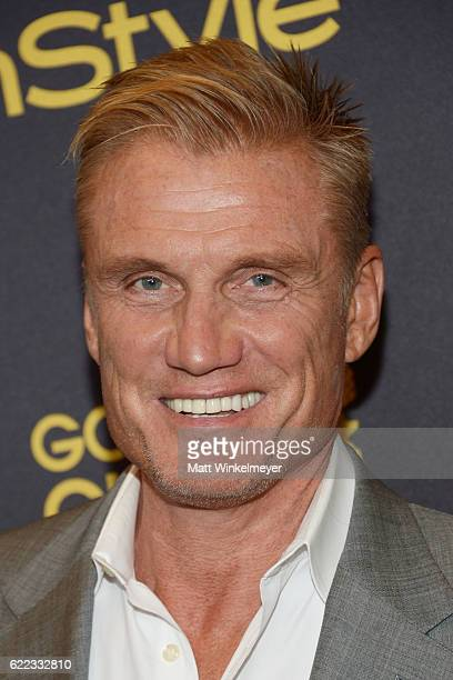 Actor Dolph Lundgren arrives at the Hollywood Foreign Press Association and InStyle celebrate the 2017 Golden Globe Award Season at Catch LA on...