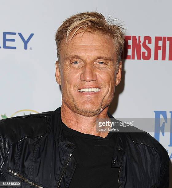 Actor Dolph Lundgren attends Men's Fitness Game Changers celebration at Sunset Tower Hotel on October 10 2016 in West Hollywood California