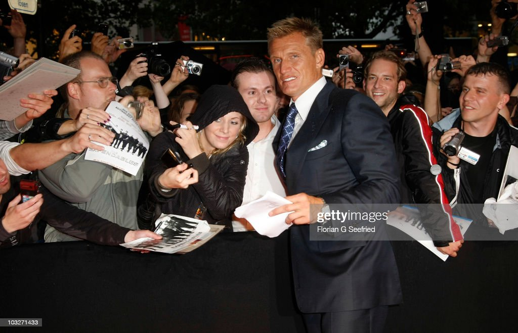 The Expendables VIP Germany Premiere