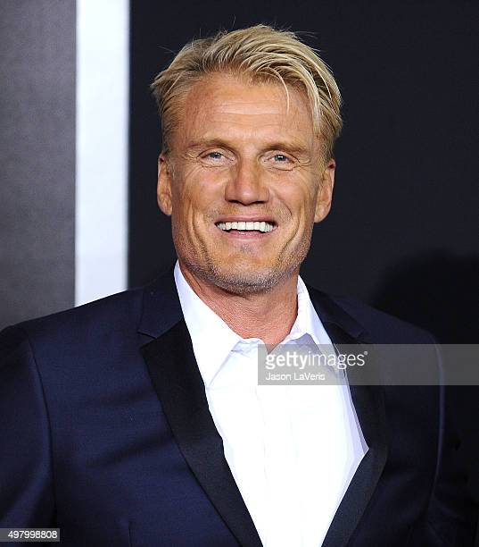 Actor Dolph Lundgren attends the premiere of Creed at Regency Village Theatre on November 19 2015 in Westwood California