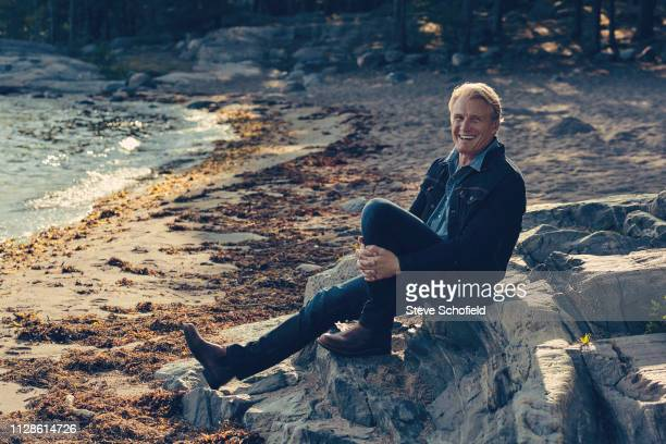 Actor Dolph Lundgren is photographed for Empire magazine on August 28 2018 in Stockholm Sweden