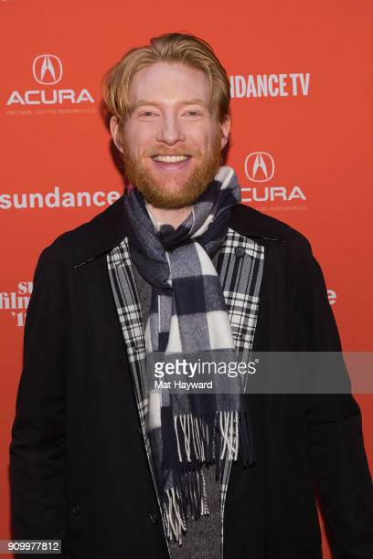Actor Domhnall Gleeson attends the 2018 Sundance Film Festival premiere of Netflixs film A Futile And Stupid Gesture at Eccles Center Theatre on...