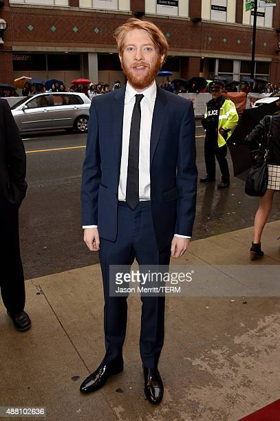 "Actor Domhnall Gleeson attends the ""Brooklyn"" premiere during the 2015 Toronto International Film Festival at the Winter Garden Theatre on September..."