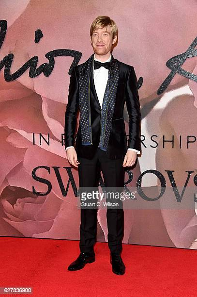Actor Domhnall Gleeson attends The Fashion Awards 2016 on December 5, 2016 in London, United Kingdom.