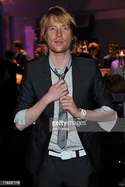 Actor Domhnall Gleeson attends the Harry Potter And The Deathly Hallows Part 2 world premiere after party at Old Billingsgate Market on July 7 2011...