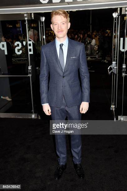 Actor Domhnall Gleeson attends the 'Mother' UK premiere at Odeon Leicester Square on September 6 2017 in London England