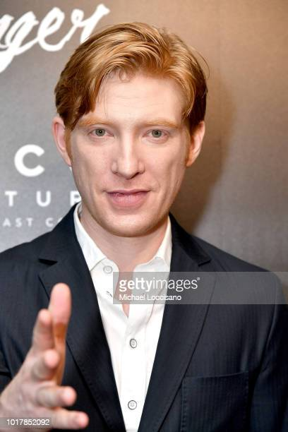"Actor Domhnall Gleeson attends the New York premiere of ""The Little Stranger"" at Metrograph on August 16, 2018 in New York City."