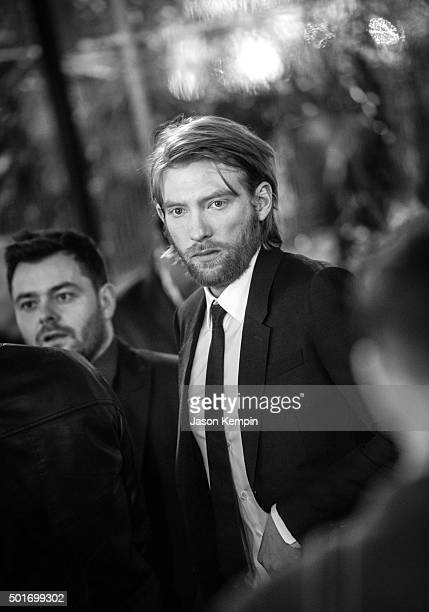 Actor Domhnall Gleeson attends the premiere of 20th Century Fox's The Revenant at TCL Chinese Theatre on December 16 2015 in Hollywood California