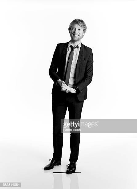 Actor Domhnall Gleeson is photographed for Empire magazine on March 24 2013 in London England