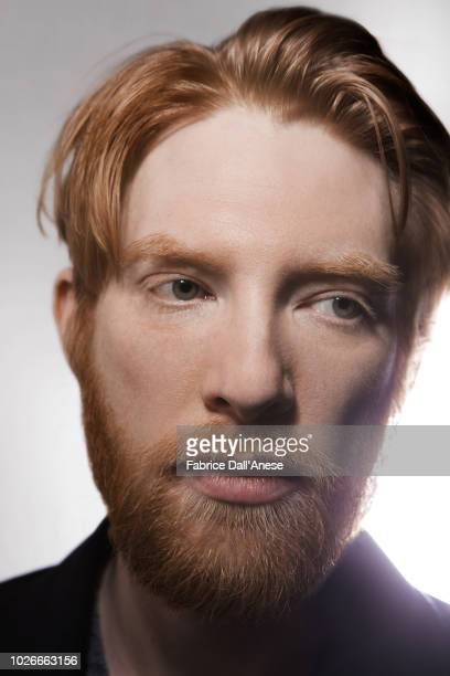 Actor Domhnall Gleeson is photographed for Self Assignment, on January, 2018 in Park City, Utah. . .