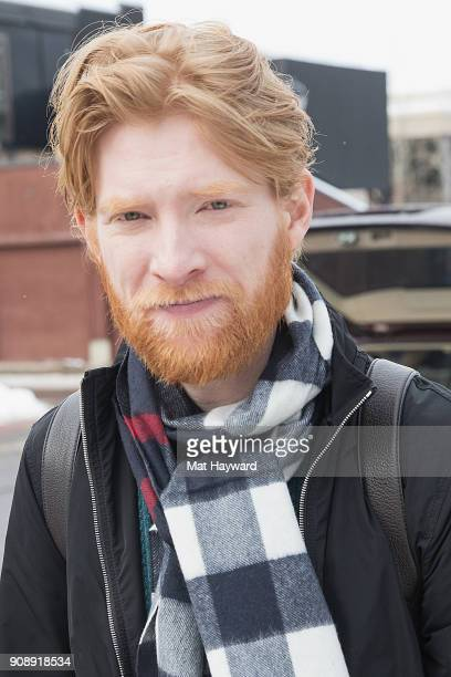 Actor Domhnall Gleeson is sighted during the Sundance Film Festival on January 22 2018 in Park City Utah