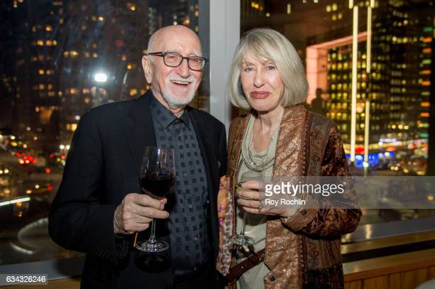 Actor Dominic Chianese and Jane Pittson attend The Good Fight World Premiere After Party at Jazz at Lincoln Center on February 8 2017 in New York City