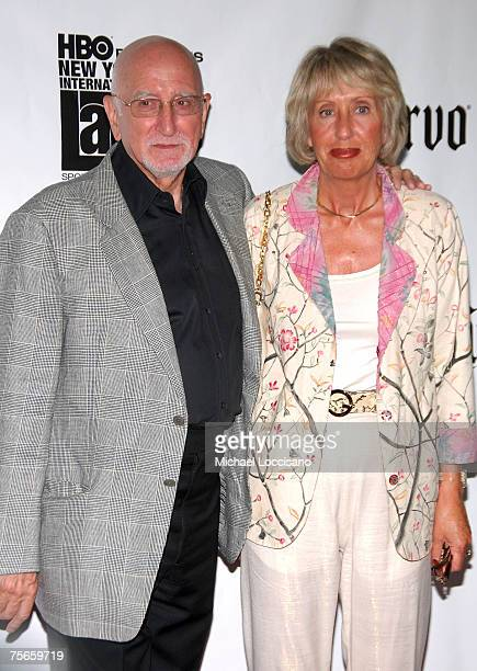Actor Dominic Chianese and wife Jane Pittson attends New York Premiere of Adrift In Manhattan at Florence Gould Hall in New York City on July 25 2007
