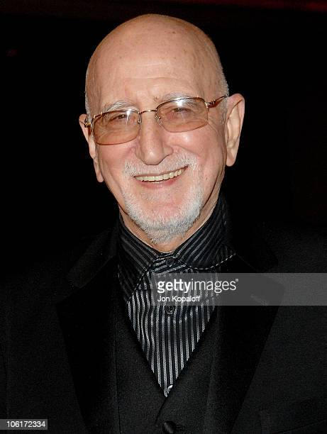 Actor Dominic Chianese arrives at the 60th Annual Directors Guild of America Awards at the Hyatt Regency Century Plaza Hotel on January 26 2008 in...