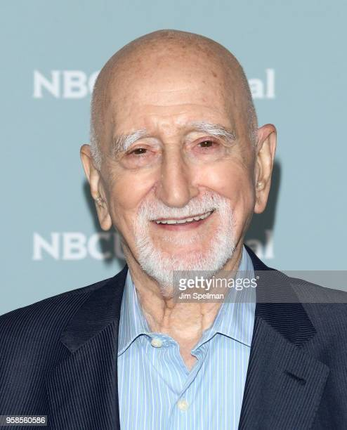 Actor Dominic Chianese attends the 2018 NBCUniversal Upfront presentation at Rockefeller Center on May 14 2018 in New York City